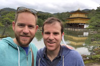 John and husband in Japan